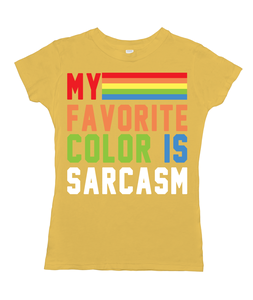 My Favorite Color is Sarcasm