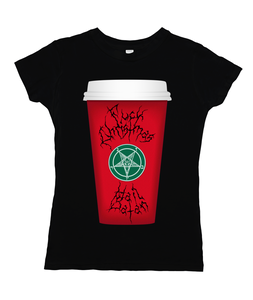 Fuck Christmas Hail Satan Red Cup