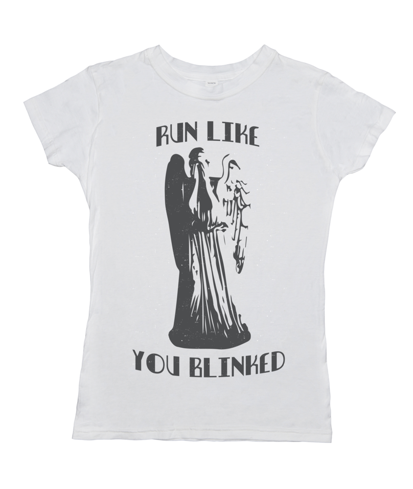 Run Like You Blinked (Weeping Angel)