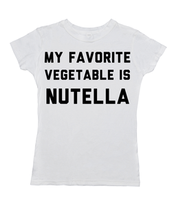 My Favorite Vegetable Is Nutella