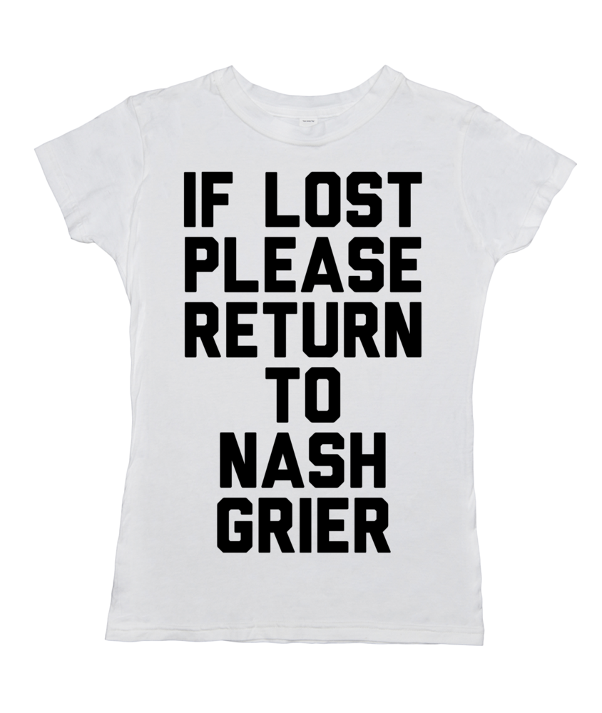 If Lost Please Return to Nash Grier