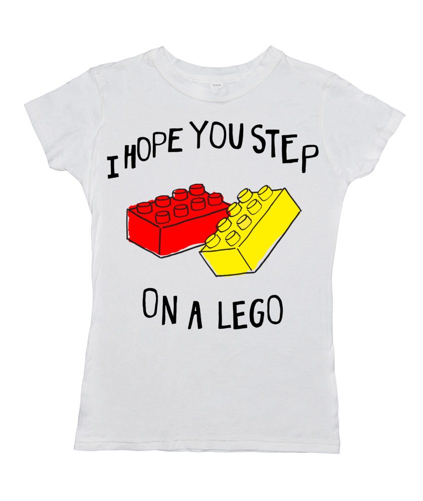Step on a Lego