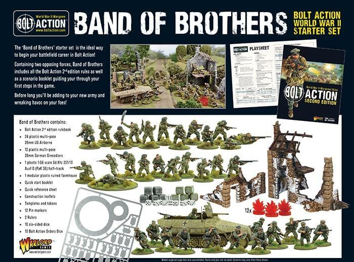 "Bolt Action 2 Starter Set ""Band of Brothers"" VF - Monsieur Miniatures"
