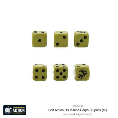 Bolt Action US Marine Corps D6 pack - Monsieur Miniatures