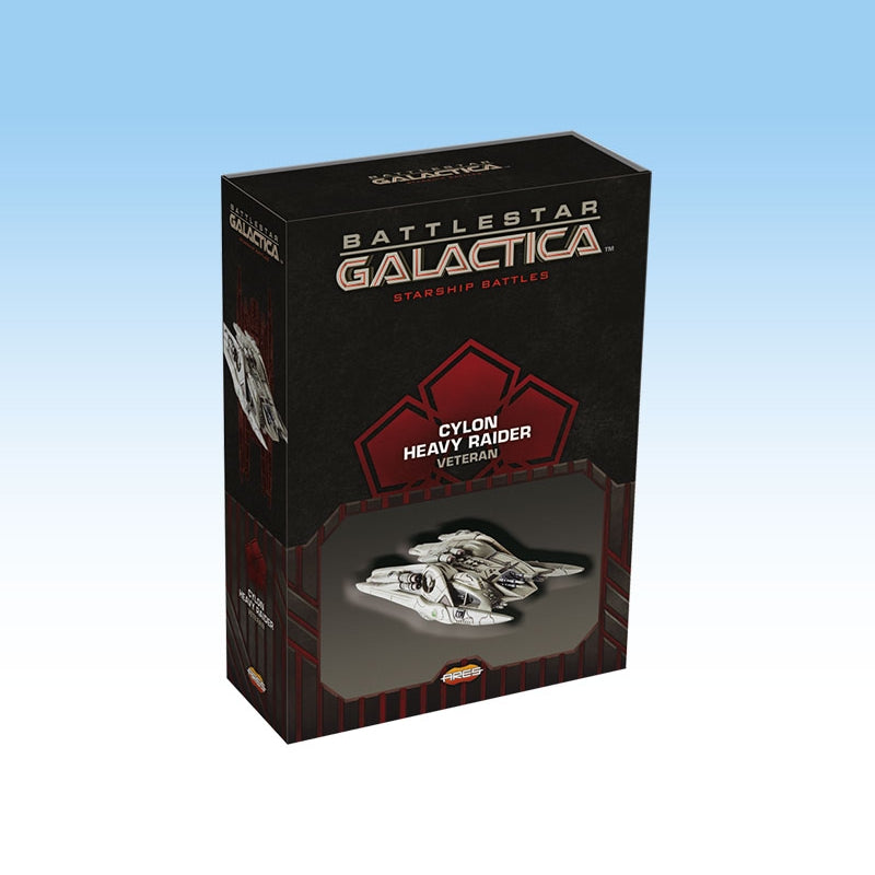 Battlestar Galactica Starship Battles - Spaceship Pack: Cylon Heavy Raider (Veteran)