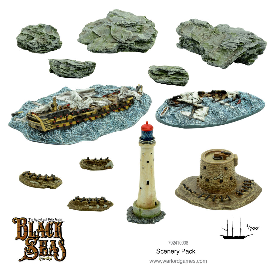 Black Seas - scenery pack