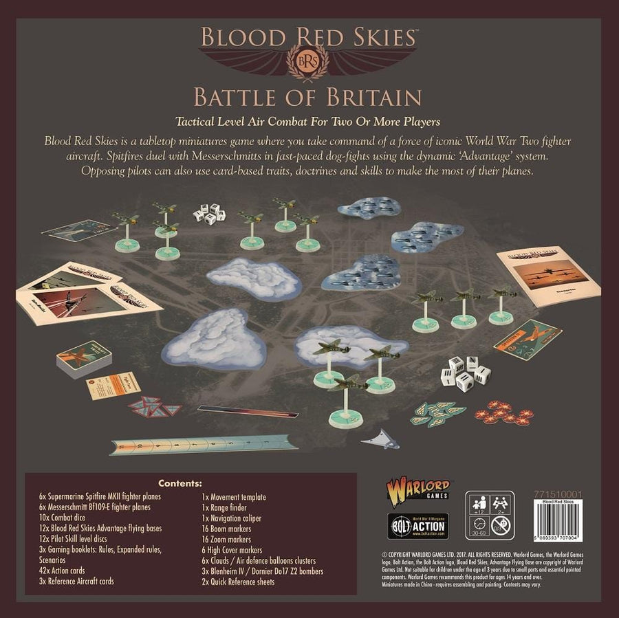 Blood Red Skies - Monsieur Miniatures