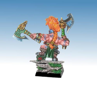 Dragon Seeker with Paired Weapon - version 2 - Boutique Monsieur Miniatures