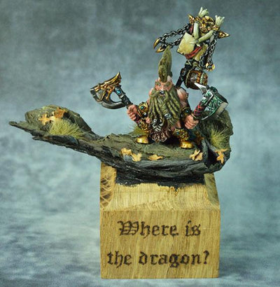 Dragon Seeker with Paired Weapon - Monsieur Miniatures