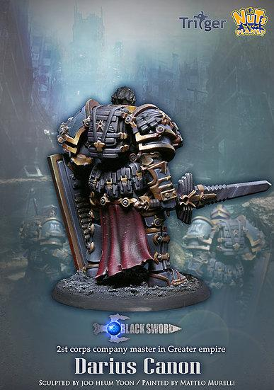 Nuts Planet - Figurine Darius Canon - Boutique Monsieur Miniatures