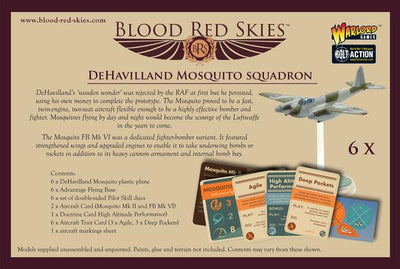 Blood Red Skies - De Havilland Mosquito Squadron