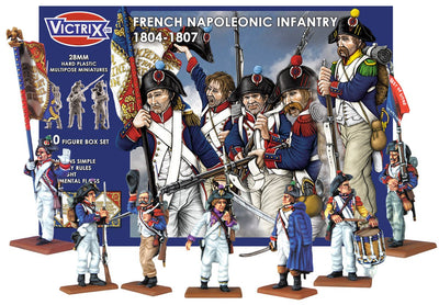 French Napoleonic Infantry 1804-1807