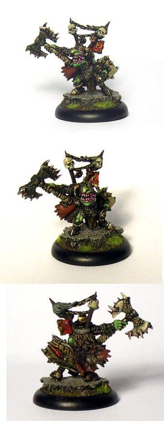 Goblin Chief - Monsieur Miniatures