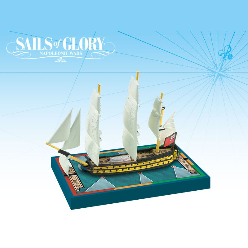 Sails of Glory - HMS Agamemnon 1781/ HMS Raisonnable 1768
