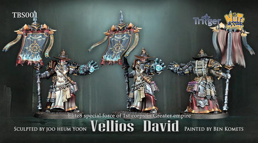 Nuts Planet - Figurine Vellios David - Monsieur Miniatures