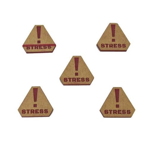 Jetons Stress (x5) - Boutique Monsieur Miniatures