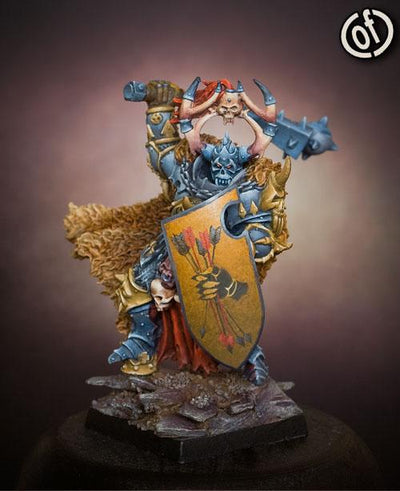 Lord of Wrath with great shield - Boutique Monsieur Miniatures