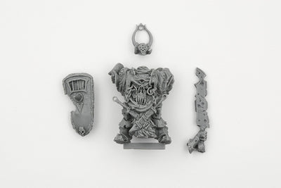 Lord of Pestilence with weapon and shield - Boutique Monsieur Miniatures
