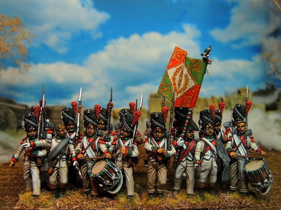Napoleon's Old Guard Grenadiers