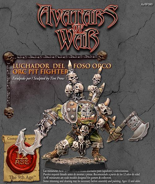 Orc Pit Fighter - Boutique Monsieur Miniatures