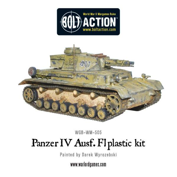 Bolt Action - Panzer IV Ausf. F1/G/H Medium Tank