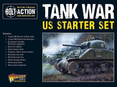 Tank War US starter set - Monsieur Miniatures