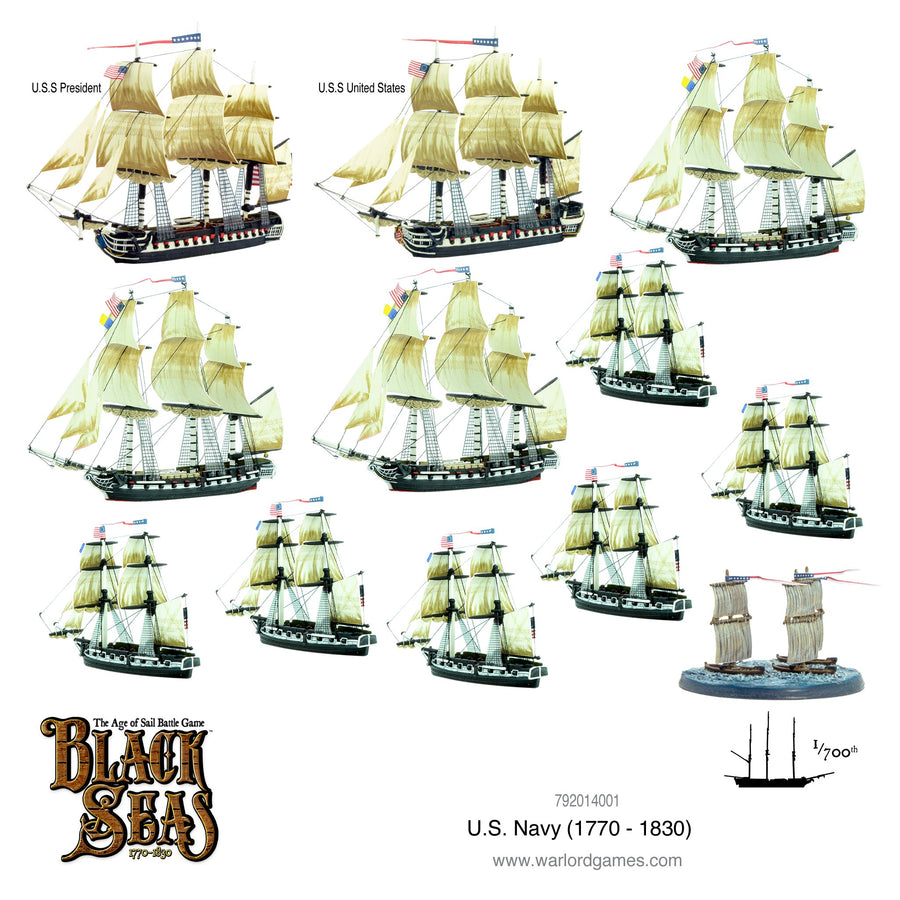 Black Seas - U.S. Navy Fleet (1770 - 1830)
