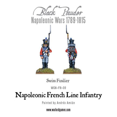 Napoleonic French Line Infantry 1806-1810 - Monsieur Miniatures