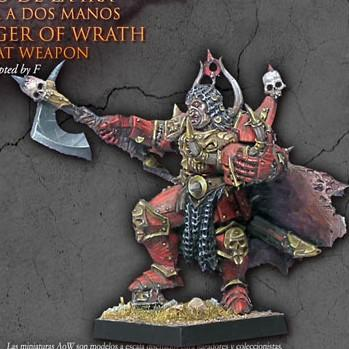 Harbinger of Wrath with great weapon - Monsieur Miniatures