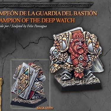Champion of the Deep Watch - Monsieur Miniatures
