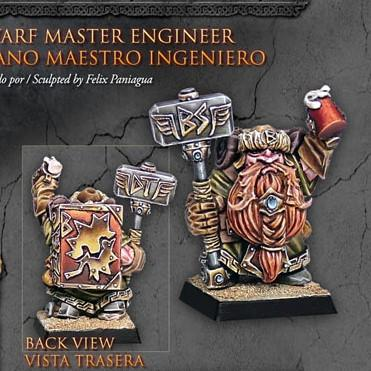 Dwarf Master Engineer - Boutique Monsieur Miniatures