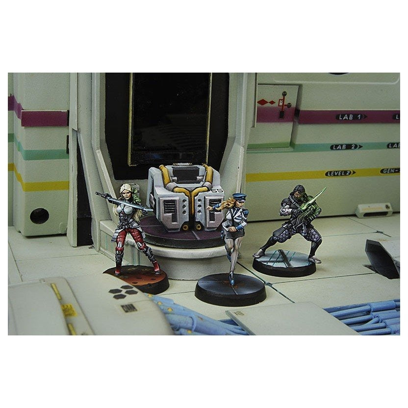 Infinity Dire Foes Mission Pack 2 - Fleeting Alliance - Monsieur Miniatures