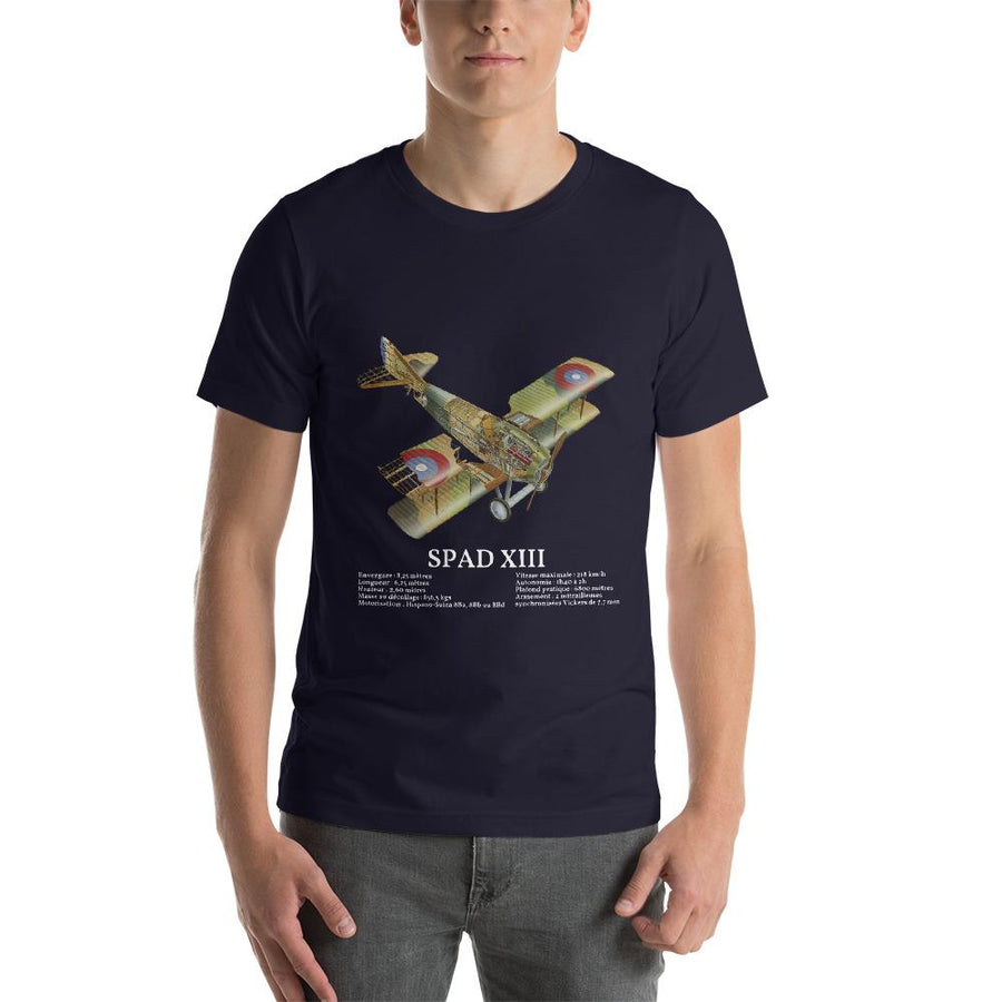 T-Shirt SPAD XIII - Boutique Monsieur Miniatures