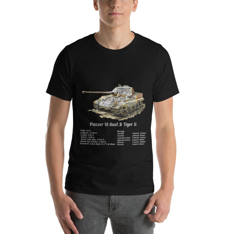 T-Shirt Tiger II - Boutique Monsieur Miniatures