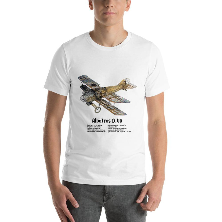 T-Shirt Albatros D.Va - Boutique Monsieur Miniatures