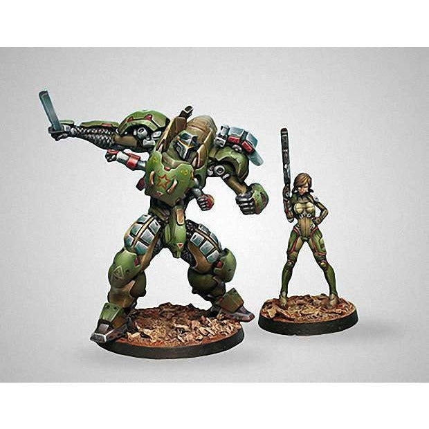 Infinity: Mercenaries - Anaconda TAG Squad - Boutique Monsieur Miniatures