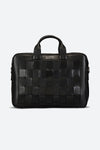 Tilcara Hand-Braided Briefcase in Black