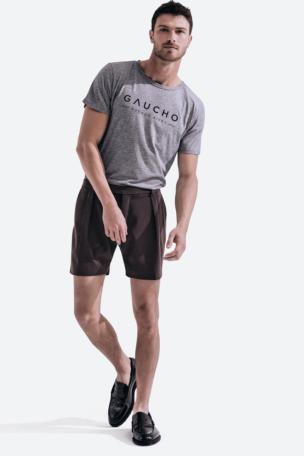 Men's Iconic Mitre T-shirt in Grey