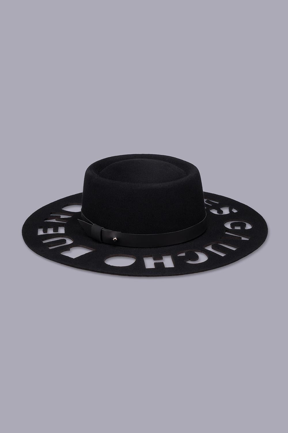 Belgrano Gaucho Pattern Track Pants in Navy