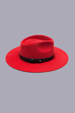 Maure Women's Hat in Red