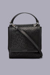 Dolores Signature Embossed Satchel Bag