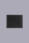 Tortugas Signature Embossed Wallet in Black