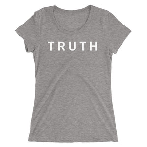TRUTH STANDARD BADGE Ladies' short sleeve t-shirt