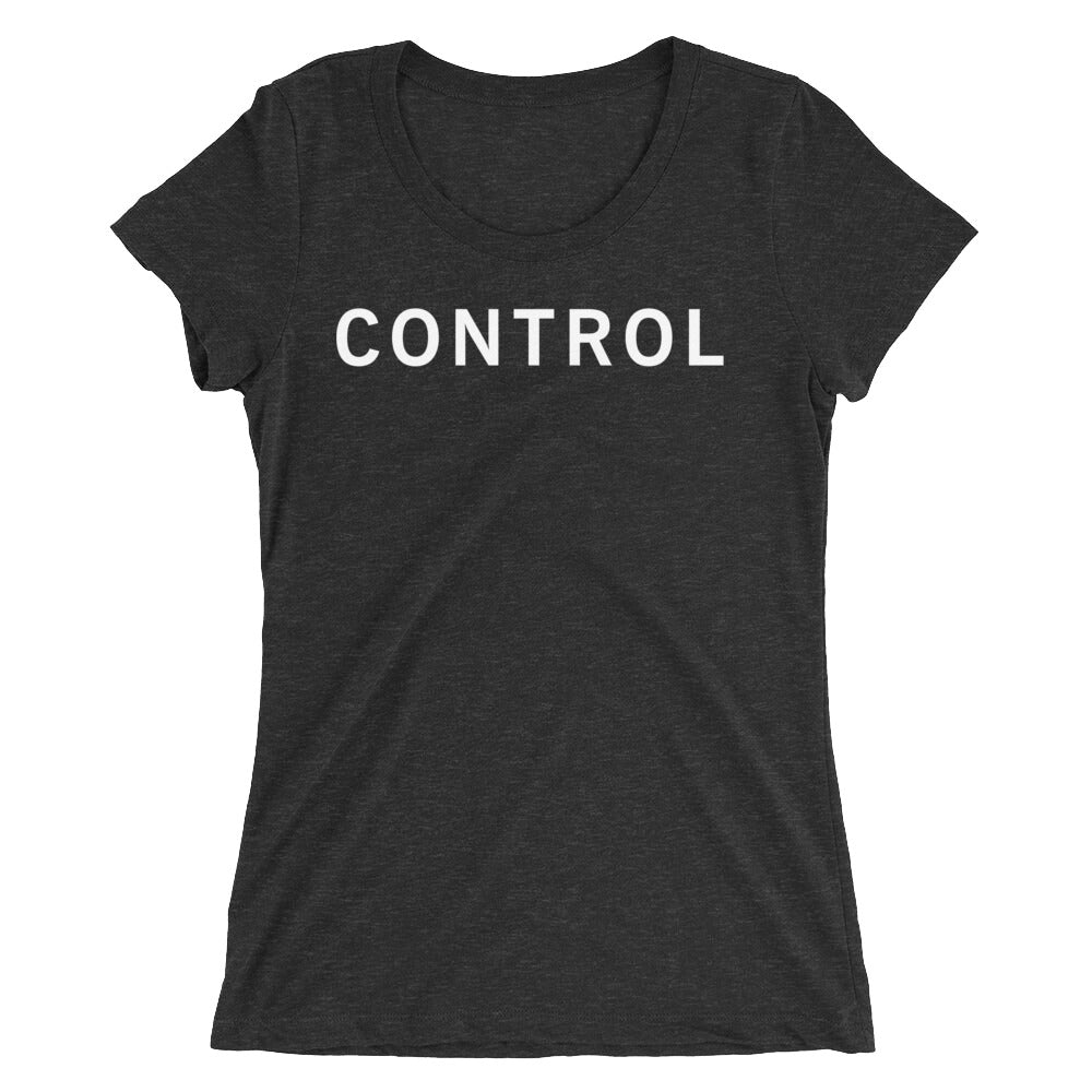 CONTROL STANDARD BADGE Ladies' short sleeve t-shirt