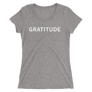 GRATITUDE STANDARD BADGE Ladies' short sleeve t-shirt