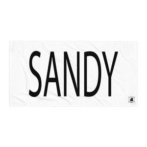 STANDARD BADGE SANDY TOWEL LARGE