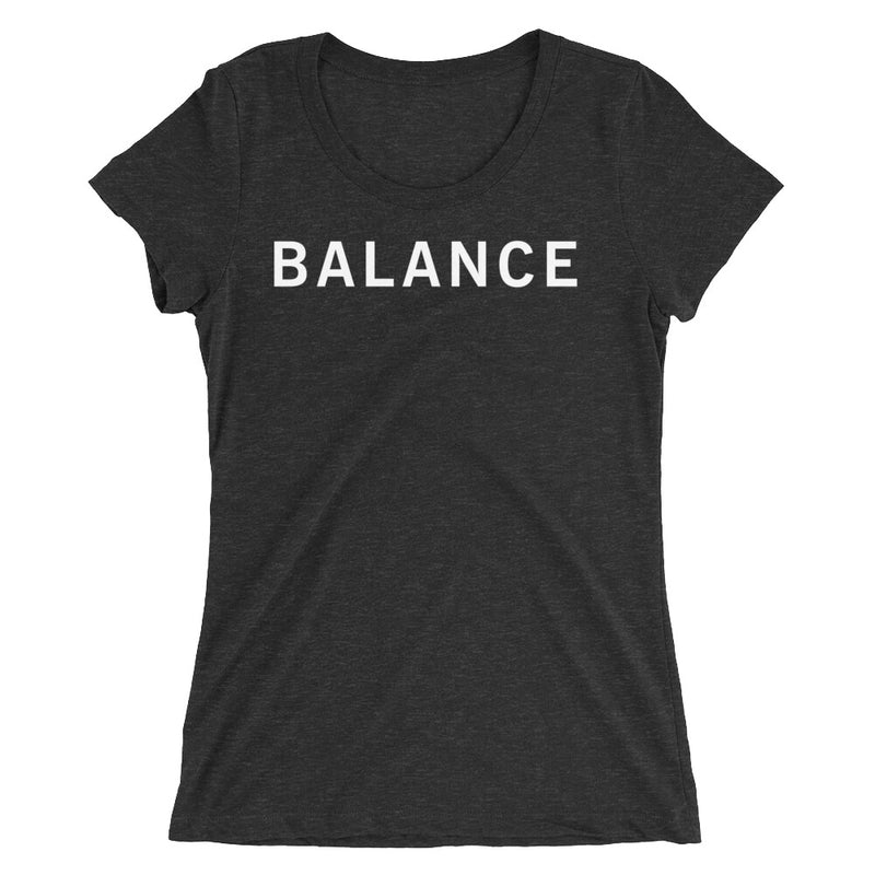 BALANCE STANDARD BADGE Ladies' short sleeve t-shirt
