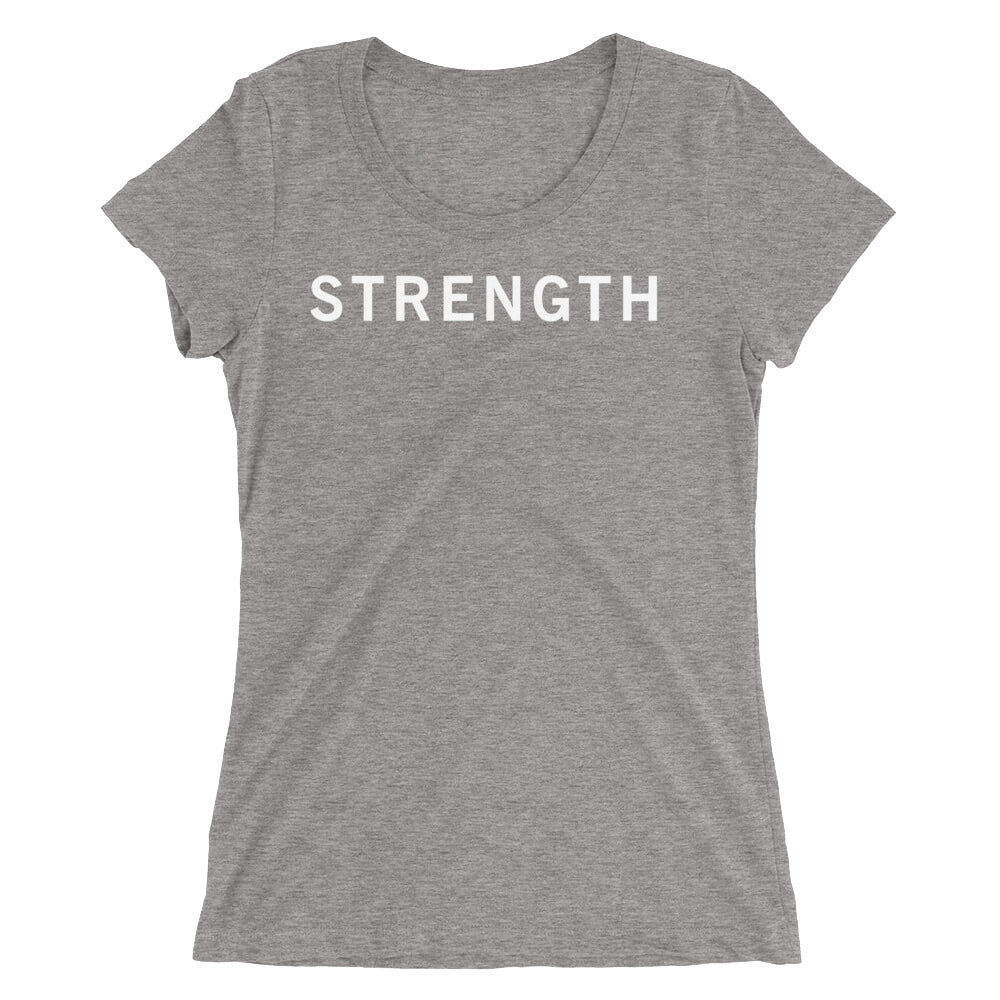 STRENGTH STANDARD BADGE Ladies' short sleeve t-shirt
