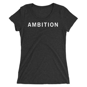 AMBITION STANDARD BADGE Ladies' short sleeve t-shirt