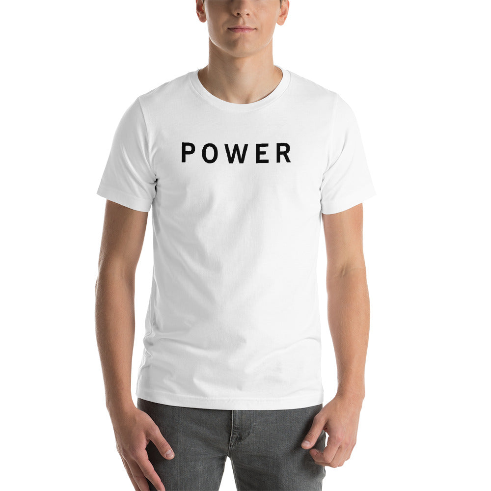 POWER Short-Sleeve Unisex T-Shirt